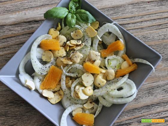 Un nuovo pranzoinufficio Insalata finocchi, arance e lupini