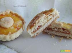 Crostatine senza glutine con doppio ripieno