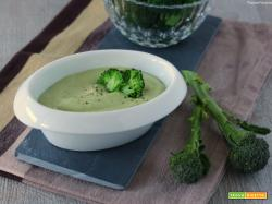 Maionese vegetariana di broccoli e yogurt greco