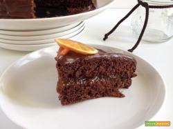 Torta al cioccolato e marmellata di arance