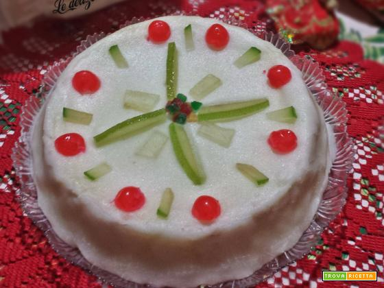 Cassata siciliana con glassa all'acqua