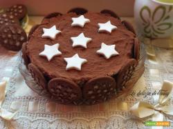 Torta pan di stelle con mascarpone e Nutella