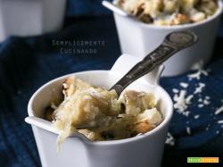 Zuppa di cipolle o soupe à l'oignon