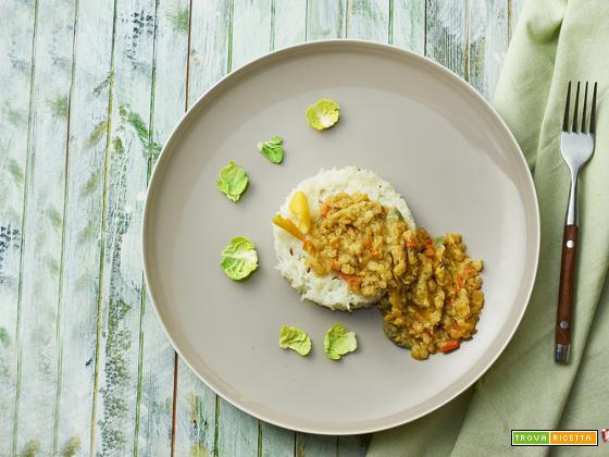 curry di lenticchie e cocco
