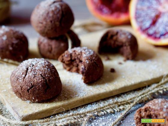 Biscotti Morbidi al Cioccolato e Arance