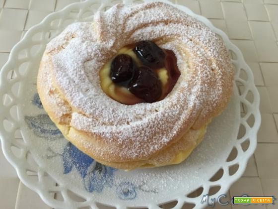 Zeppole di San Giuseppe al forno con Cuisine e i-Companion Moulinex