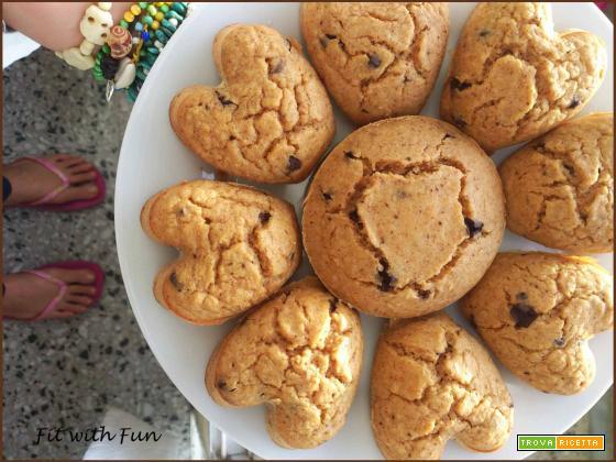Torta Facile e Dietetica allo Yogurt con Gocce di Cioccolato