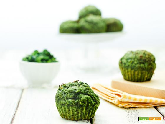 muffin agli spinaci senza zucchero