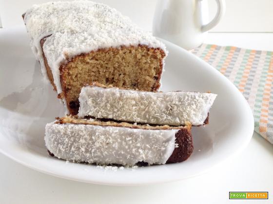 Plumcake al cocco e caffè