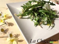 Insalata di tarassaco e parmigiano