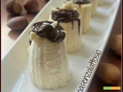 Tronchetti di banana al cioccolato