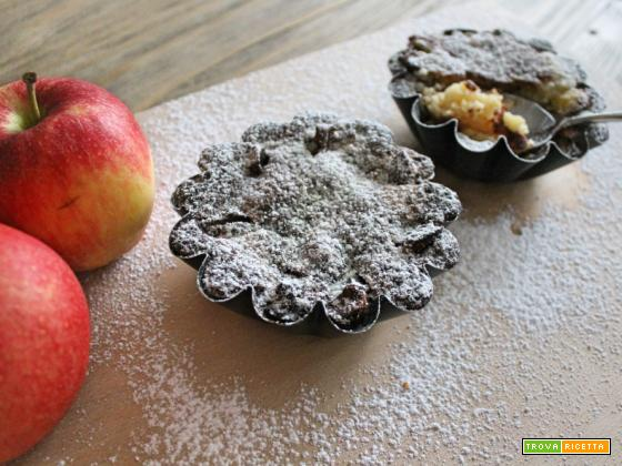 Tortini mele e mandorle morbidissimi
