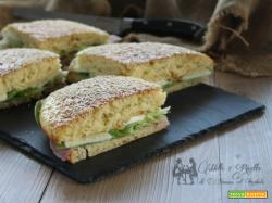 Pan brioche sofficissimo, per sandwich