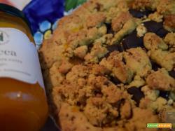 Sbriciolata con semola rimacinata e confettura extra di zucca