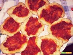 Le pizzette fritte montanare