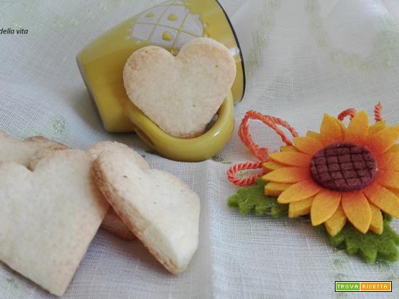 Biscottini con farina di riso e amido di mais senza glutine