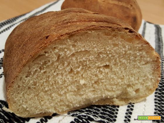 Pane con semola di gran duro e lievito madre