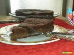 Crostata al cacao con cuore morbido al cioccolato
