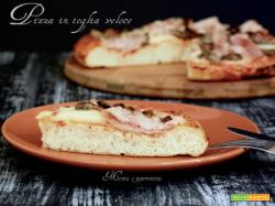 Pizza in teglia veloce
