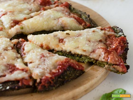 Pizza di broccoli light – Senza lievito
