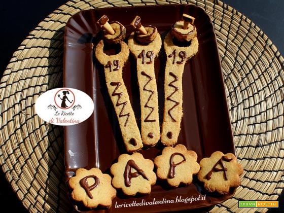 Biscotti per tutti i papà! Tanti auguri!