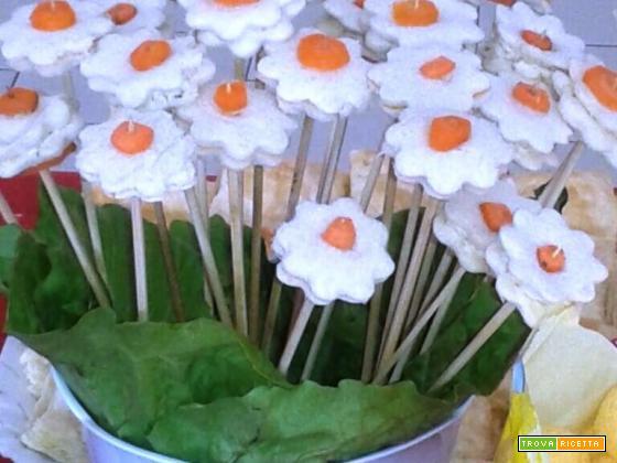 Bouquet di pancarrè farcito: idee finger food per ogni buffet