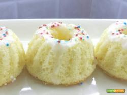 ciambelline chiffon: come preparare la chiffon cake