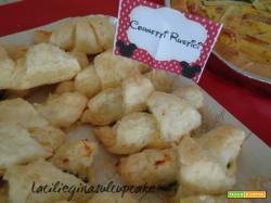 Cornetti rustici con ricotta e spinaci: ricetta per buffet salato