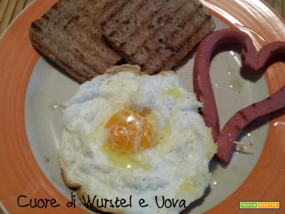 Cuori di wurstel e uova: ricetta di San Valentino