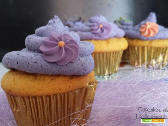 Cupcakes alla zucca e frosting alla panna