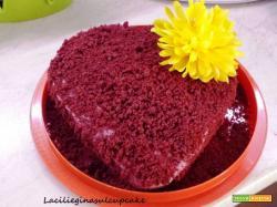 Molly cake rossa con crema al burro