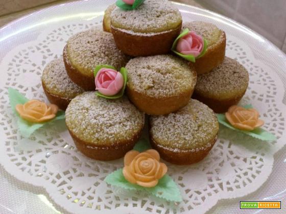 Muffin mela e cannella: una pausa tra amiche.