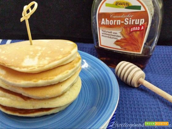 Pancakes: Ricetta base, facile e veloce