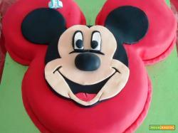 Torta di topolino primo compleanno