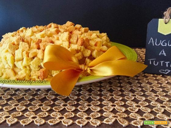 Torta mimosa all\u0027ananas un omaggio a tutte le donne