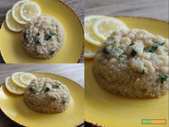 Quinoa limone e zenzero