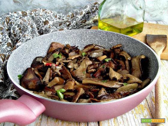 Funghi trifolati: un contorno da preparare in pochi minuti