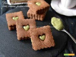 Biscotti farro integrale cacao pistacchio