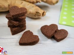 Biscotti al cacao e zenzero