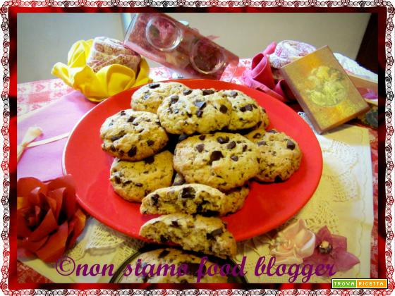 Cookies americani, ricetta semplice senza burro