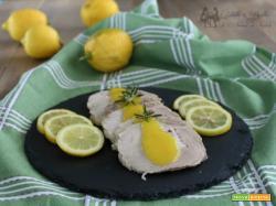Arista con salsa al limone