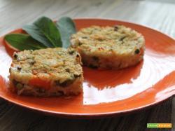 Riso al forno con le verdure: ricetta lampo!