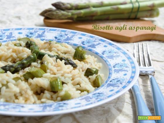 Risotto agli asparagi ricetta semplice