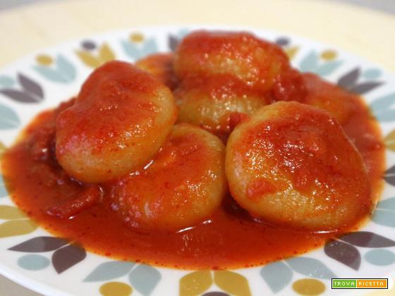 Cipolline borettane al pomodoro
