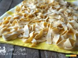 Pasta fresca Pappardelle fatte in casa