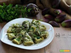Carciofi all'insalata, ricetta semplice