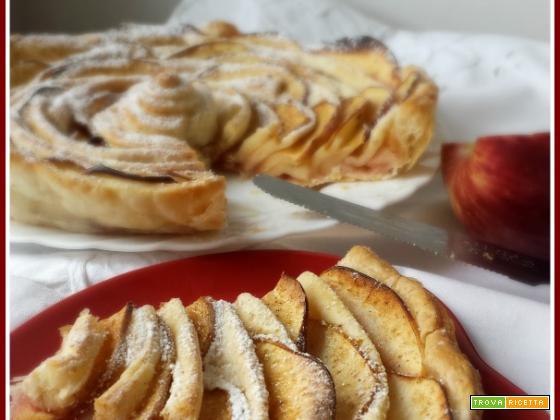Torta di mele e pasta sfoglia – ricetta veloce