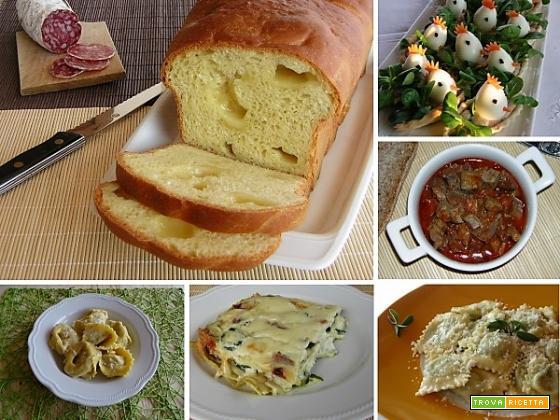 Ricette di Pasqua antipasti e primi piatti
