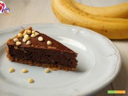New York cheesecake al cacao e banana