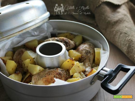 Pollo e patate agli aromi cotto in fornetto Versilia